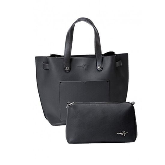 MEATFLY Ženska torbica Alma 4 Black