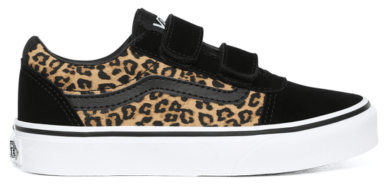 Vans otroška obutev MY Ward V (cheetah) black VN0A4BTC36I1