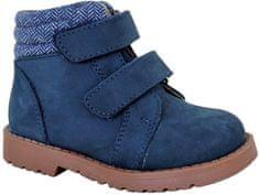 Protetika egész évre alkalmas fiú cipő HAROLD NAVY 72021, 21, sötétkék