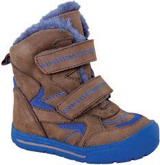 Protetika chlapčenská zimná obuv ALDO BROWN 72021 25, hnedá - zánovné