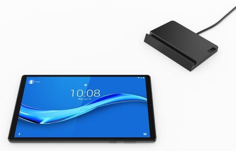 Lenovo Tab M10 Plus, 4GB/128GB, LTE , Iron Grey (ZA5Y0173CZ) + nabíjecí stanice