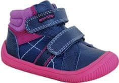 Protetika DANY FUXIA 72021 flexi barefoot lány cipő, 20, sötétkék