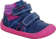 Protetika 72021 Dany Fuxia barefoot dekliški čevlji, temno modri, 23