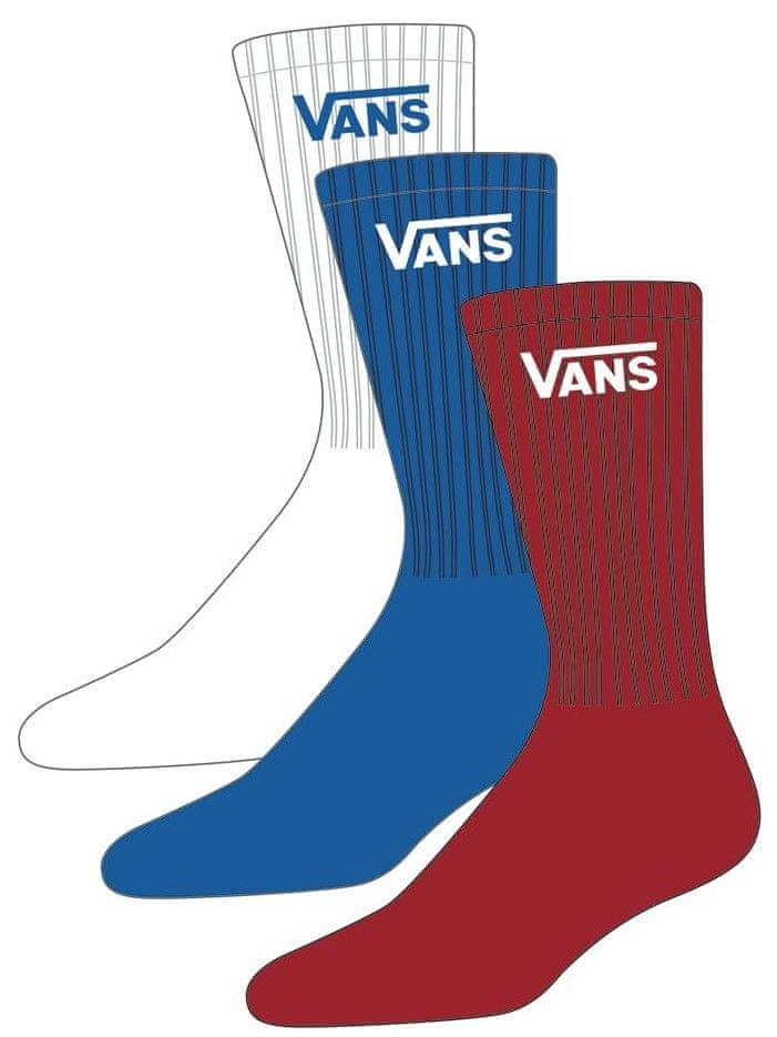 Vans dětské ponožky BY CLASSIC CREW BOYS VICTORIA BLUE 31,5 - 38