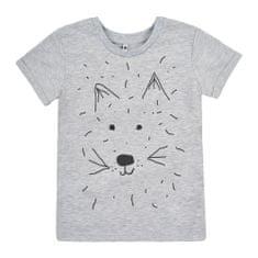 Garnamama chlapčenské tričko 116, šedá