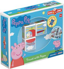 Geomag Magicube Peppa Pig Travel with Peppa