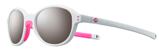 Julbo dekliška sončna očala FRISBEE SP3+ grey clear/pink fluo