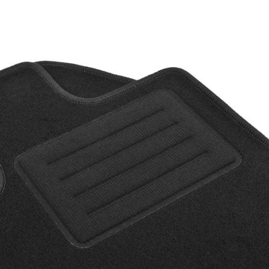 shumee Zestaw 4 dywaników samochodowych do Audi Q8