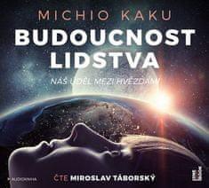 Kaku Micho: Budoucnost lidstva - Náš úděl mezi hvězdami (2x CD) - MP3-CD