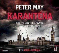 May Peter: Karanténa - MP3-CD