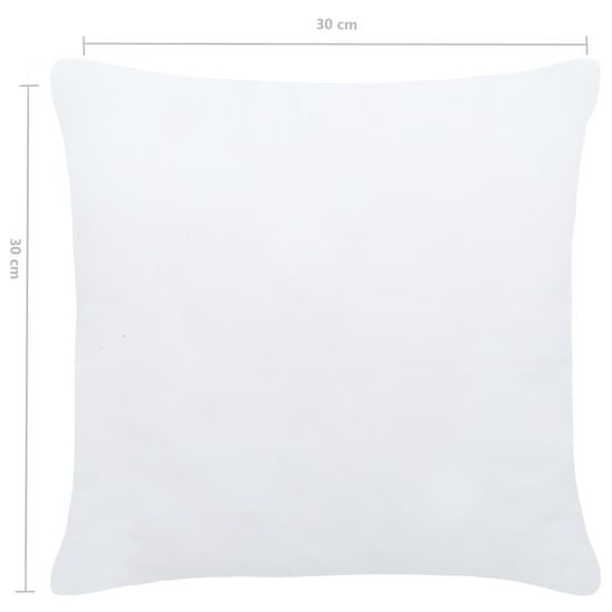 shumee 4 db fehér párnabelső 30 x 30 cm