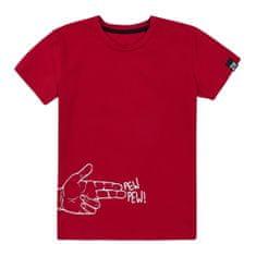 Garnamama chlapecké tričko 134 červená