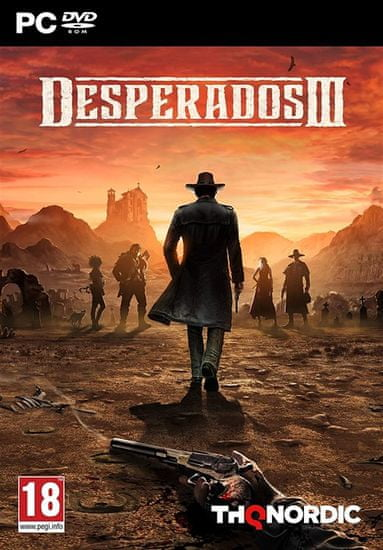 THQ Nordic Desperados III igra, (PC)