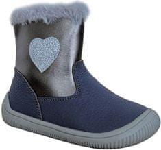 Protetika flexi barefoot lány cipő LORY 72021, 19, sötétkék