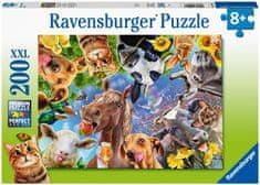 Ravensburger sestavljanka 129027 Simpatične domače živali, 200- delna