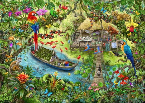 Ravensburger Puzzle 129249 Exit KIDS: Džungle 368 dílků