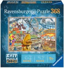 Ravensburger Puzzle 129263 Exit KIDS: Zábavní park 368 dílků