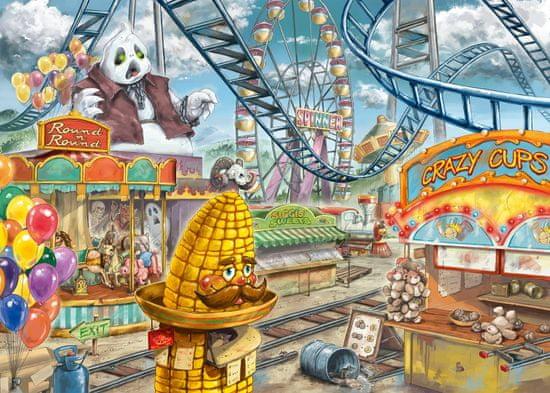 Ravensburger slagalica 129263 Exit KIDS: Zabavni park, 368 komada
