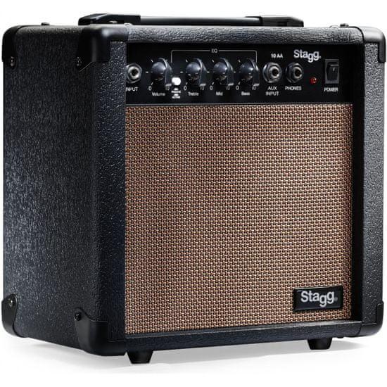 Stagg 10 AA, kombo pro elektroakustickou kytaru, 10W