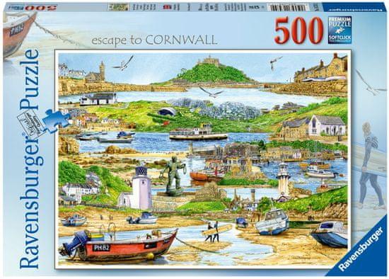 Ravensburger sestavljanka 165742 Pobeg v Cornwall, 500-delna