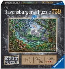 Ravensburger Puzzle 150304 Exit: Egyszarvú 759 darabos