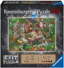 Ravensburger sestavljanka 164837 Exit: Rastlinjak, 368-delni