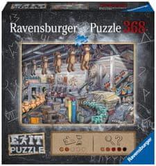 Ravensburger slagalica 164844 Exit: U tvornici igračaka, 368 komada