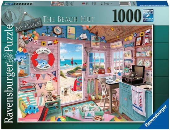Ravensburger sestavljanka 150007 Koča na plaži, 1000-delna