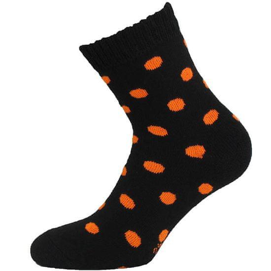 BENAMI Hřejivé ponožky na spaní Černá 25-26