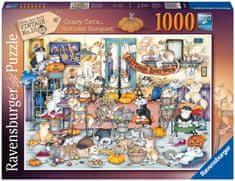Ravensburger Puzzle 165094 Bláznivé kočky, podzimní hostina 1000 dílků
