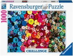 Ravensburger sestavljanka 165636 Izziv z gumbi, 1000-delna