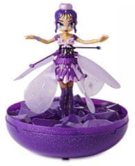 Spin Master Hatchimals Létající panenka Pixie - fialová