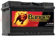 Banner 72Ah baterie 650A, pravá BANNER Starting Bull 278x175x190 57212