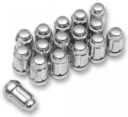 ITP 12mmX1.50 FLAT CHROME LUG NUT BOX OF 16 (ALUG20BX) ALUG20BX