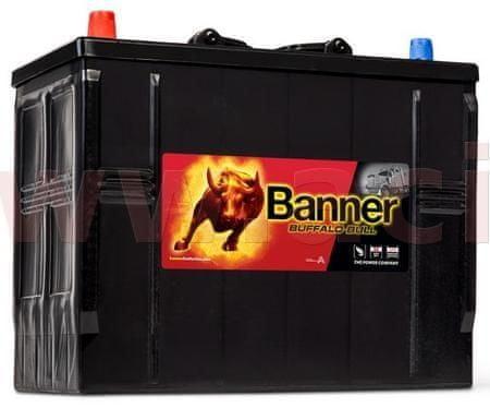 Banner 125Ah baterie, 760A, levá BANNER Buffalo Bull 345x172x260(283) 62513