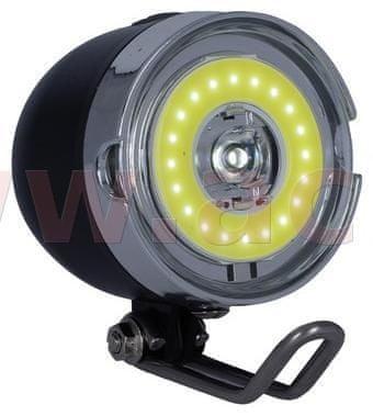 Oxford světlo na kolo přední BRIGHT STREET, OXFORD (LED, světelný tok 45 lm) LD424