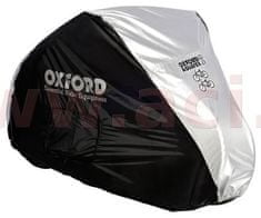 Oxford plachta na dvě kola Aquatex, OXFORD (černá/stříbrná) CC101