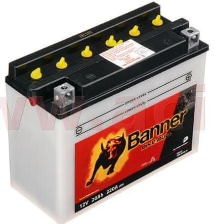 Banner baterie 12V, Y50-N18 l-A, 20Ah, 220A, BANNER Bike Bull 205x90x162 52012