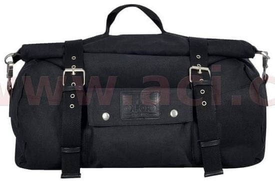 Oxford brašna Roll bag Heritage, OXFORD (černá, objem 20 l) OL571