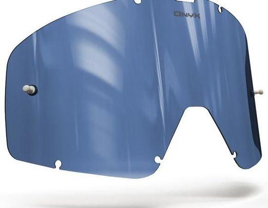 Fox Racing plexi pro brýle FOX RACING MAIN, ONYX LENSES (modré s polarizací) 15-142-61