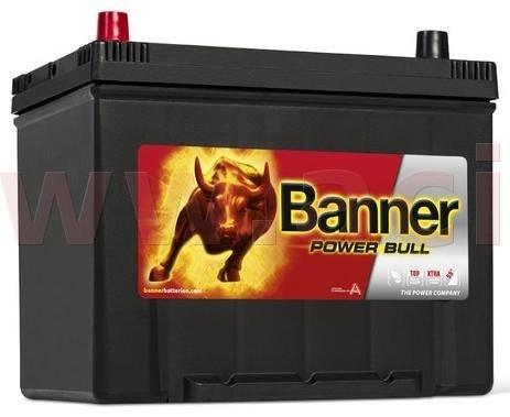 Banner 70Ah baterie, 600A, levá BANNER Power Bull 260x174x200(222) P7024