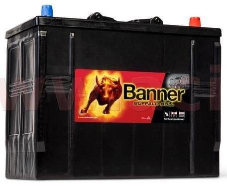 Banner 125Ah baterie, 760A, pravá BANNER Buffalo Bull 345x172x260(283) 62511
