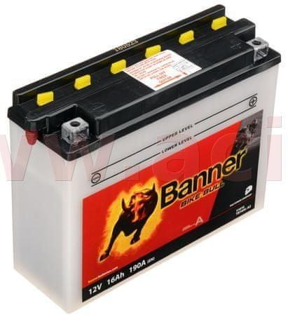 Banner baterie 12V, YB16AL-A2, 16Ah, 190A, BANNER Bike Bull 207x71x164 51616