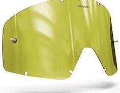 Fox Racing plexi pro brýle FOX RACING MAIN, ONYX LENSES (Hi-Vis žluté s polarizací) 15-142-41