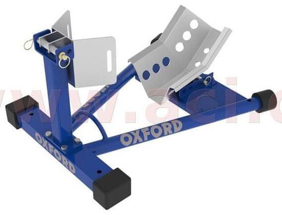 Oxford držák předního kola motocyklu Bike Dock, OXFORD (modrý) OX781