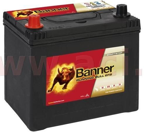 Banner 65Ah baterie, 550A, levá BANNER Running Bull EFB 233x173x203(225) EFB56516