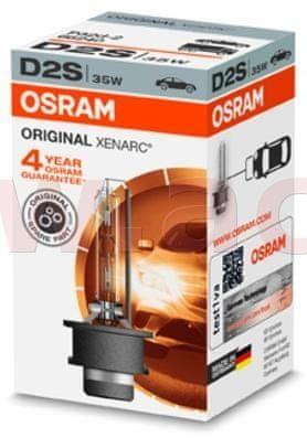 Osram D2S - výbojka XENON 12/24V 35W pro čočky OSRAM ORIGINAL XENARC 66240