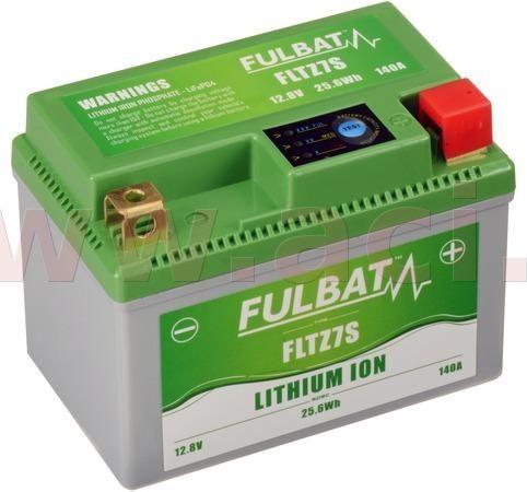 Fulbat lithiová baterie LiFePO4 YTZ7S FULBAT 12V, 2Ah, 140A, hmotnost 0,42 kg, 113x70x85 560503