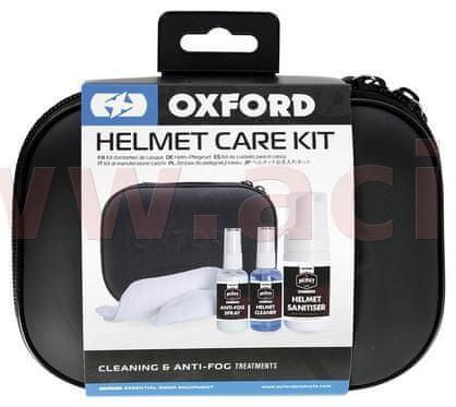 Oxford sada prostředků pro čištění přileb a plexi OX634