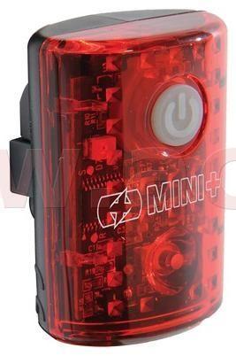 Oxford světlo na kolo zadní ULTRA TORCH MINI+, OXFORD (dobíjení pomocí USB, světelný tok 15 lm) LD732